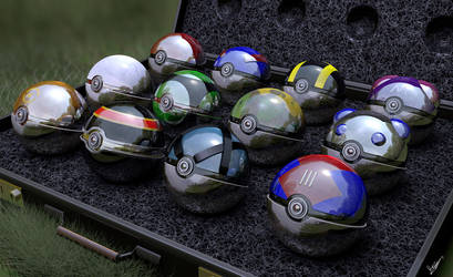 Choose your pokeball by Keynok