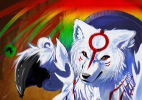 Amaterasu by Keynok