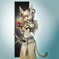 Inktober 2017 - Day 30 - Found by Keynok