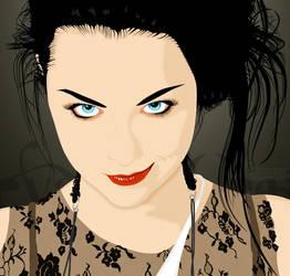 Amy Lee by lilipaddinako