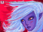 Blue Girl: Nintendo DS Colors by GraphicAnime