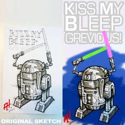 Kiss My Bleep by toysrevil