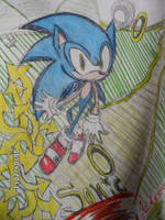 .::Sonic The Hedgehog::. by Pz-crew