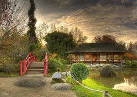 Photo HDR prise au jardin japonais de Toulouse by Louis-photos