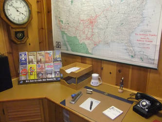Santa Fe Work Desk by SouthwestChief