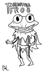 Phantom Frog by dawgmastas