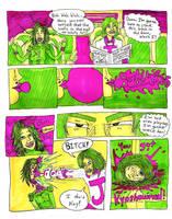 J-pop vs Shrapnel girl by dawgmastas