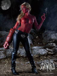 KILLER QUEENS: Hellboy by MaLize