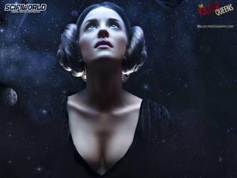 Princess Leia Walpaper 1600x1200 by MaLize