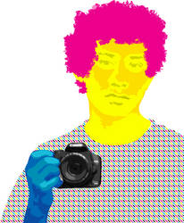 CMYK Self Portrait 2012 by DEakaBlackDragon