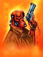 Hellboy-J Scott Campbell-color by SplashColors