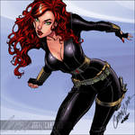 Black Widow-Campbell-Colors by SplashColors