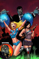 Zombie Cheerleaders Hack Slash by SplashColors