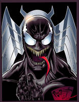 Venom by Peter Palmiotti Color by SplashColors