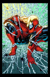 Spiderman Mcfarlane Cover Remake by SplashColors