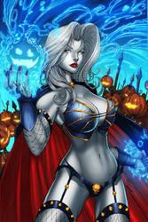 Lady Death by DeBalfo colors by SplashColors