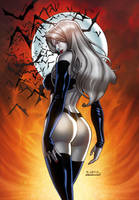 LADY DEATH by RICHARD ORTIZ-COLORS by Splash! by SplashColors