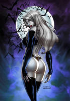 LADY DEATH blue by RICHARD ORTIZ-COLORS by Splash! by SplashColors