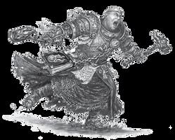 Warrior Priest by PiemasterXL