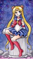 Sailor Moon Fanart by purpletoddy
