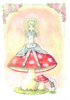 Alice in wonderland by Litchling