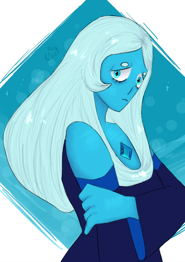 I was feeling a little blue