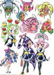 More Anime Academy of Vanity. by blackhellcat