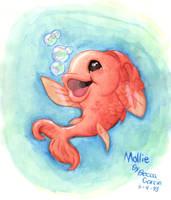 Molly Fish by blackhellcat
