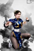 Chun-Li by aoandou