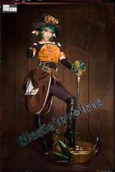 2018 Halloween Witch Elisabeth-Diana by aoandou