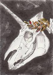Bone King by blightedangel