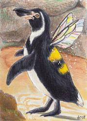 Fairy Penguin by blightedangel