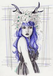 Deary Fantasy by blightedangel