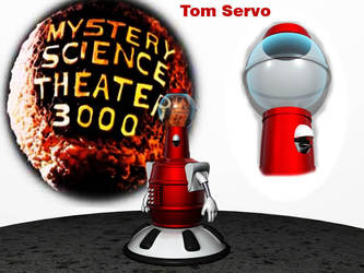 Tom Servo by drui-anomalis