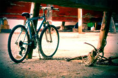 dockyard and bike .. by kapt73