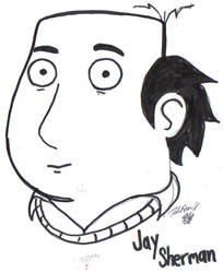 Jay Sherman from 'The Critic' by DFoot86