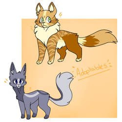 Cat adopts CLOSED by NekowDrawing