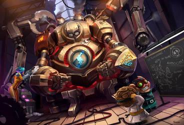 League of Legends - Blitzcrank by FAYSON1337