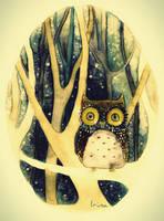 Owl by IrinaLara