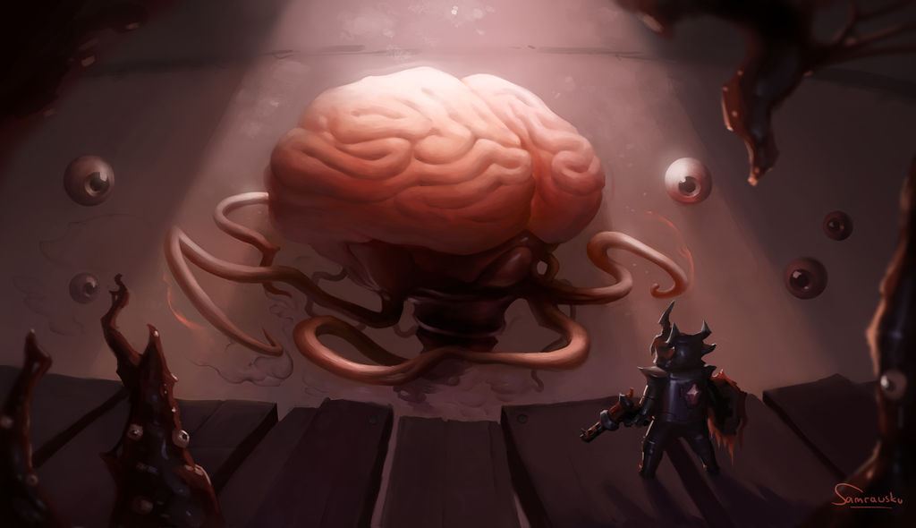 Brain Of Cthulhu By Samrausku On Deviantart