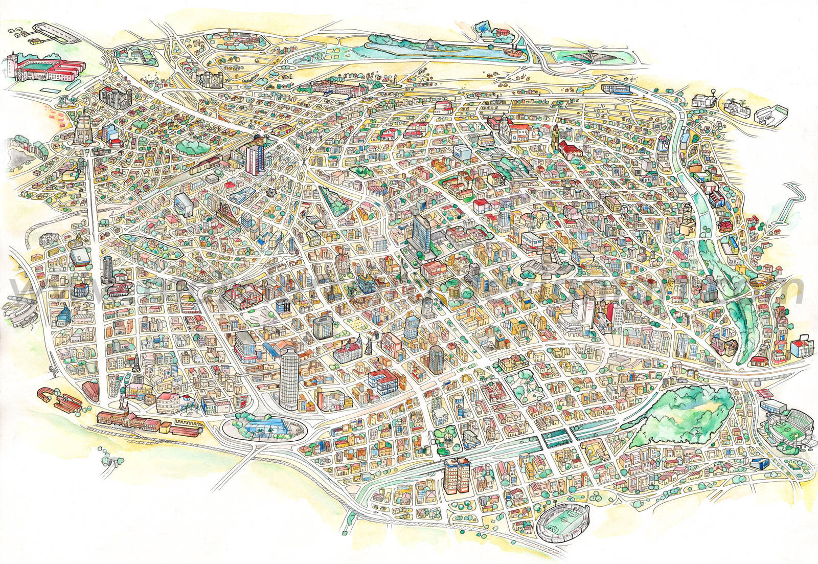 Map...huge map by MarcFerreira