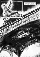 Eiffel Tower by MarcFerreira