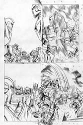 Transformers - Combiner Wars#5 - page 10 pencils by MarcFerreira