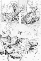 Transformers - Combiner Wars#5 - page 14 pencils by MarcFerreira