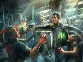 Zombie fight_Alexandrescu_Paul by AlexandrescuPaul