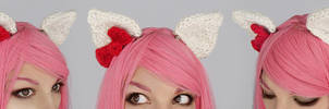 Hello Kitty clip-on ears by Archaical