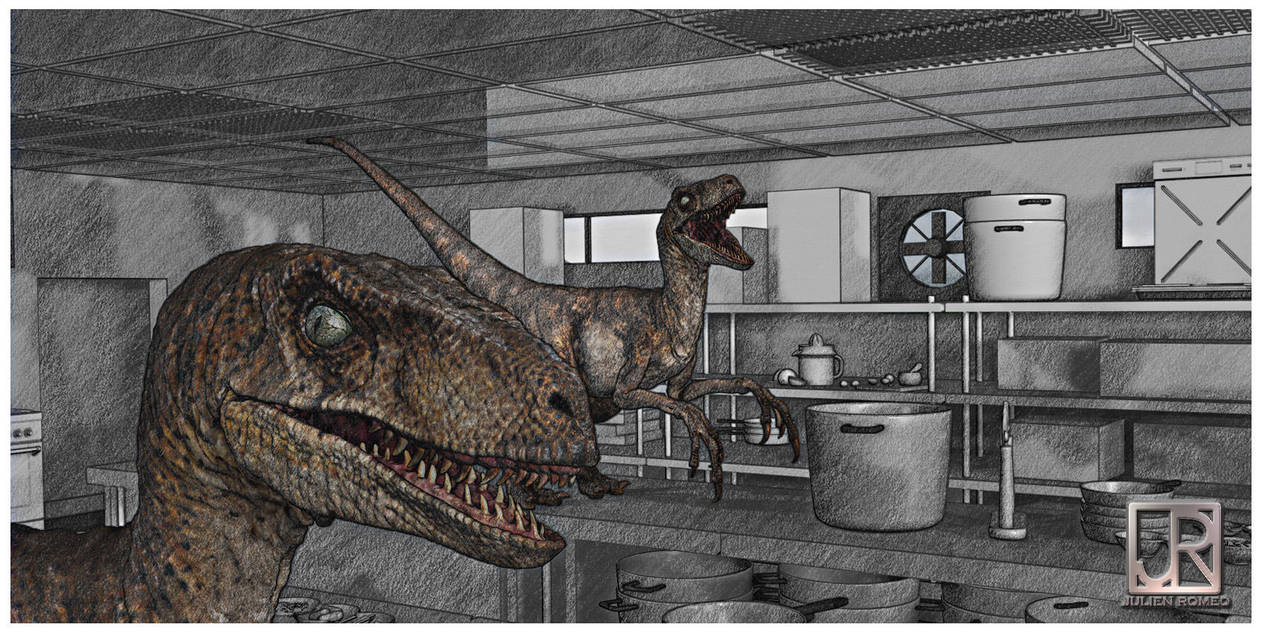 RAPTOR KITCHEN 002 by GIU3232