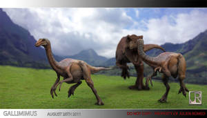 GALLIMIMUS STAMPEDE 002 by GIU3232