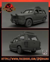 Jurassic Park - Ford Explorer XLT 1992 by GIU3232