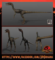 Juraasic Park the lost world compsognathus by GIU3232